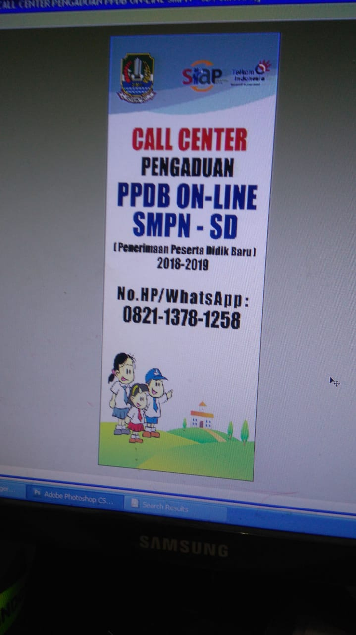 Call Center PPDB Online SMPN 2018