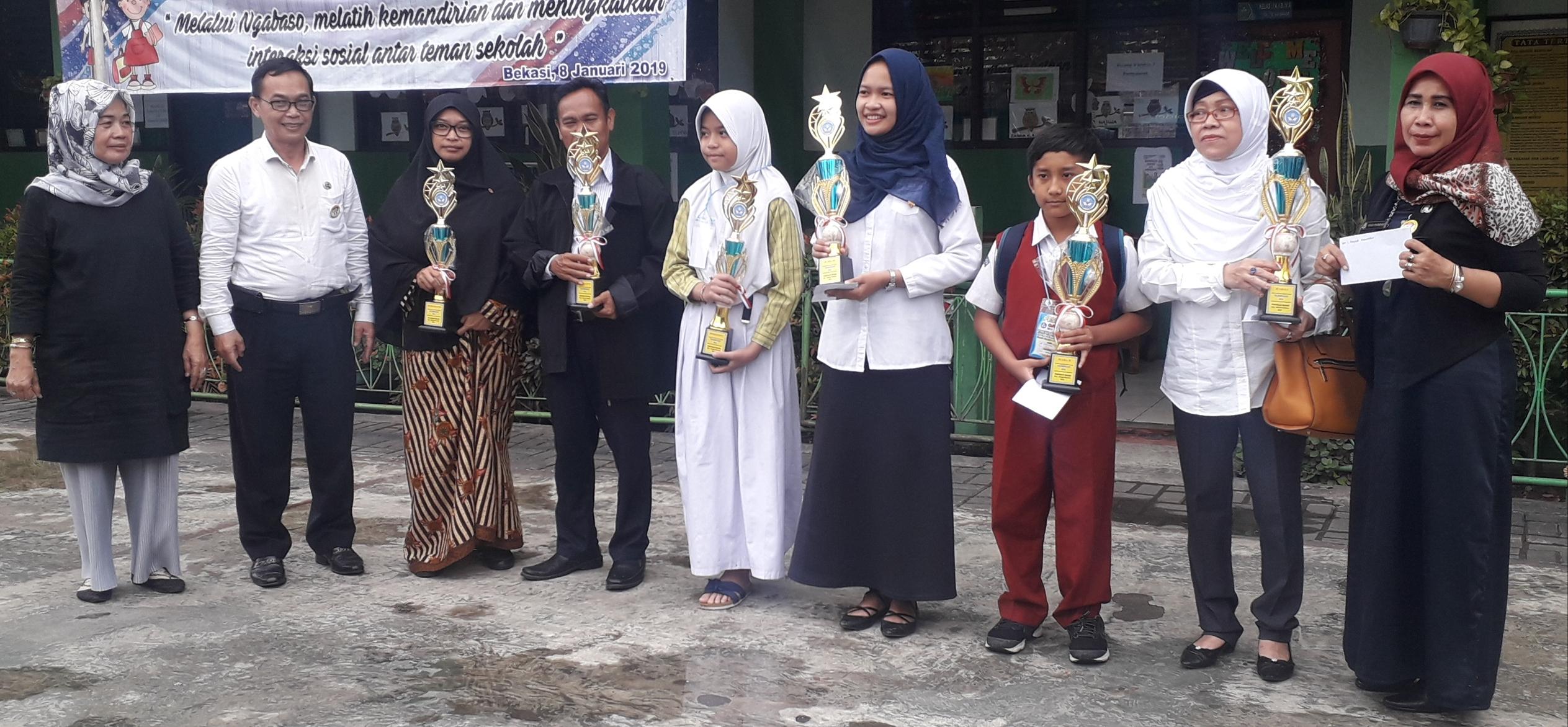 UPTD Pendidikan Bekasi Selatan Seleksi Siswa Berprestasi OSN Tingkat SD