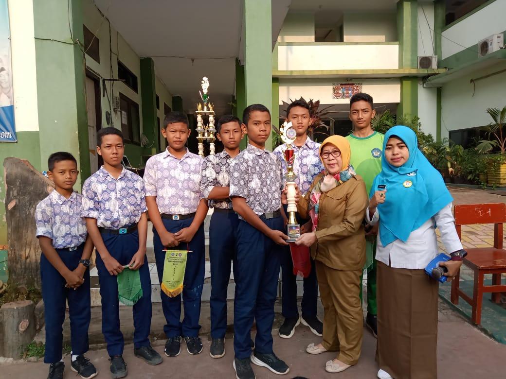 Pramuka SMPN 39 Kota Bekasi Raih Juara I Loker 2019